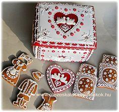 Hungarian box cookie