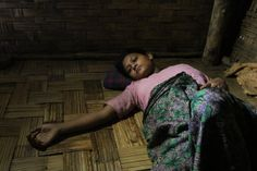 appalling apartheid — one in Myanmar that deprives members of one ethnic group even of health care.