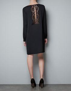 TUNIC WITH LACE BACK - Woman - New this week - ZARA United States