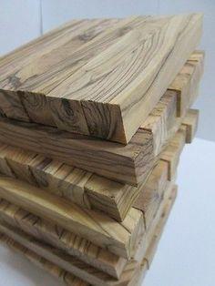 "20 Olive Wood ~Highly Figured ~ Short Length Pen Blanks   2 1//2 /"" X 3//4/"" square"