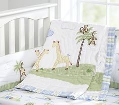 Jungle Friends Nursery Bedding Set #pbkids