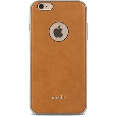 Moshi 'iGlaze' iPhone 6 Plus & 6s Plus Case ($50) ❤ liked on Polyvore featuring men's fashion, men's accessories, men's tech accessories, beige and mens wallet iphone case