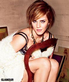Emma Watson's October 2012 cover shoot--so glam!
