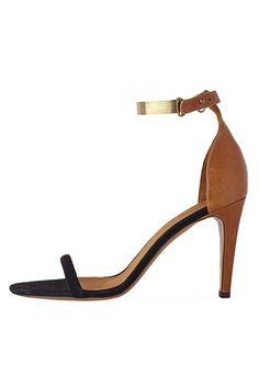 Isabel Marant Adele Metal Strap Stiletto - Womens Designer Summer Sandals