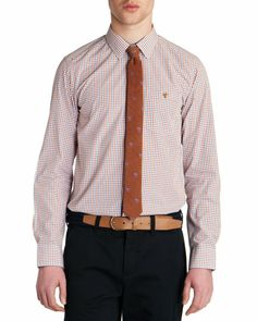 TITETAT - Tattersall shirt - Red | Men's | Ted Baker UK