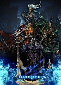 """Darksiders"" What an awsome Game <3  You are bored? PLAY IT!!  I loooooooooooove the design, it´s so dark and beautiful :3  Game Fav :D"