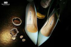 Wedding Shoes Bride.  #emweddings #destinationweddings #manoloblahnik