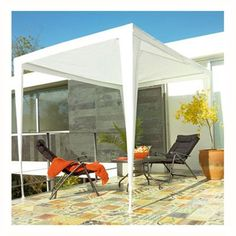 Toldo rectangular metal 300x200 - Sodimac.com