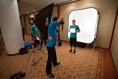 Jorge Torres Nilo en sesión de fotos para la FIFA