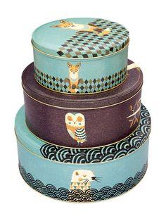 Cajas de latón decoradas