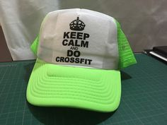 Gorra personalizada en sublimación Keep Calm And Do Crossfit 85f50a929bb