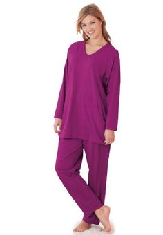a8b88cf7c49 Only Necessities Women s Plus Size Lo... Pajamas Women