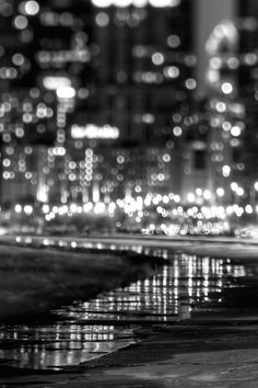 B&N. Luces nocturnas.