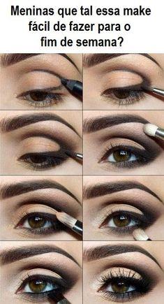 tutorial de maquiagem para o fim de semana