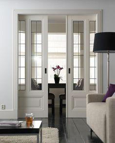 Skantrae Prestige binnendeuren. Deuren SKS 2208 met glas-in-lood 11.