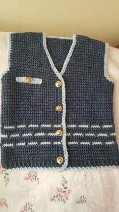 Baby Knitting Patterns, Crochet Patterns, Bebe Baby, Crochet Jacket, Tunisian Crochet, Mavis, Dandy, Kids And Parenting, Men Sweater
