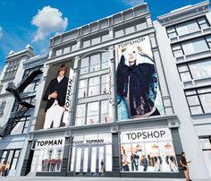 TopShop NYC... shopping heaven!