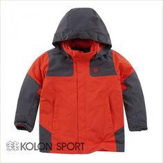 [Kolon Sport] Kids Winter Down Inner Layered Detachable Water resist Jacket (2Color)
