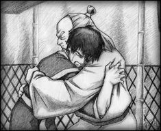 Uncle Iroh & Zuko, yeah, this moment made me cry too...well, almost...