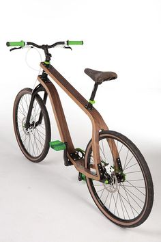 Finally! A wooden-bike design that makes sense!