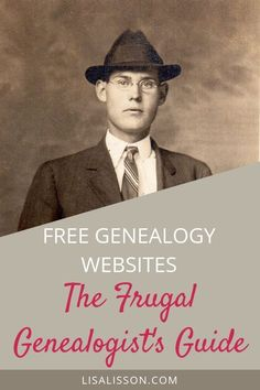Free genealogy websites to help you save money while searching for your ancestors. Free genealogy records and websites to help you search for your ancestors and save money. It is possible to research genealogy frugally! Free Genealogy Records, Free Genealogy Sites, Genealogy Research, Family Genealogy, Genealogy Humor, Genealogy Chart, Lds Genealogy, Ancestry Websites, Find My Ancestors
