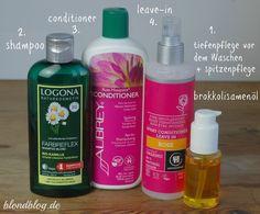 HAARPFLEGE-ROUTINE für trockene Haare im Winter. Reichhaltig & natürlich. Mit Öl-Tiefpflege (Brokkolisamenöl)
