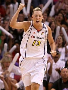 Penny Taylor. Favourite player playing for my favourite team.