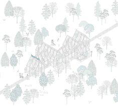 Glass in the park - arcipelago - architettura collettiva