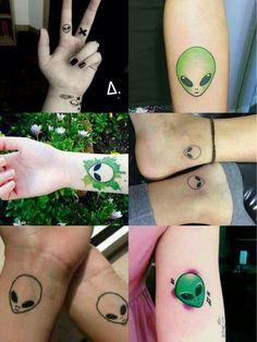 Tatuagens de alien/ET
