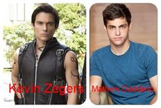 Alec Lightwood: Kevin Zegers  > Matthew Daddario - Shadowhunters. The Mortal Instruments Tv Series. ABC Family
