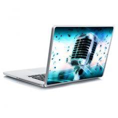 Αυτοκόλλητο laptop microphone Laptop Stickers, Karaoke, Electronics, Consumer Electronics
