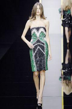 Elie Saab Spring 2008 Ready-to-Wear Fashion Show - Danielle Hamm (NATHALIE)