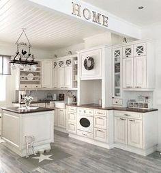 45 Luxurious Clean Sage Kitchen Cabinets Ideas - Page 5 of 45 - nicolette news Sage Kitchen, White Kitchen Cabinets, Kitchen Cabinet Design, Country Kitchen, Diy Kitchen, Kitchen Decor, Kitchen Ideas, Awesome Kitchen, Beautiful Kitchen Designs