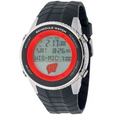 Wisconsin Badgers Schedule Watch, only $ 99.95 at MyTeamBling.com. http://www.myteambling.com/wisconsin-badgers-schedule-watch.html... #wisconsinbadgers #wisconsinbadgerswatches #wisconsinbadgersschedulewatch