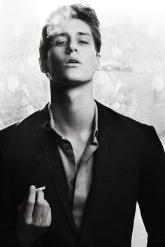 Jean Baptiste Maunier, hon, don't ruin that lovely voice of yours by smoking.