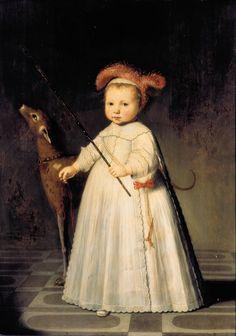 Attributed to Dirck Dircksz van Santvoort - Dirck Alewijn, son of Frederick Alewijn.