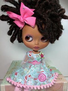 Whose your dolly custom Blythe dolls