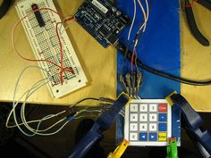 DIY membrane keypad