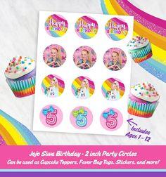 Etsy :: Your place to buy and sell all things handmade Jojo Siwa Bows, Jojo Bows, Jojo Siwa Birthday, 10th Birthday, Happy Birthday, Birthday Cupcakes, Birthday Party Themes, Birthday Ideas, Printable Birthday Invitations