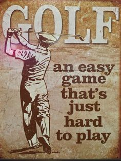 an east game that's just hard to play - #GOLF | re-pinned by http://www.countryclubsinflorida.com/