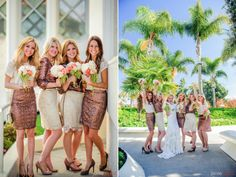 Comfortable, chic, and not too matchy! Your bridesmaids will definitely be thankful.