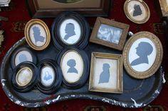 Family silhouettes @Amy Goetzinger