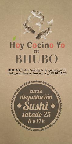1er Taller de Sushi con degustación en Bhubo Decoración Vintage