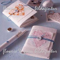 Virginia Costa: Cadernos Encapados- Altered Notebboks