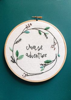 Hey, I found this really awesome Etsy listing at https://www.etsy.com/uk/listing/514364677/chase-adventure-embroidery-hoop
