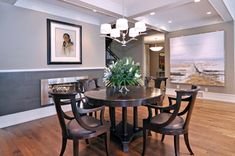 Dining Room - contemporary - dining room - calgary - by Bruce Johnson & Associates Interior Design