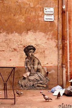 Zilda - street artist http://restreet.altervista.org/le-figure-rinascimentali-di-zilda/