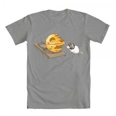 Star Wars It's a (Mouse) Trap t-shirt on www.welovefine.com