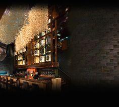 Luxury Bar Hospitality Interior Design of Nobu Fifty Seven Restaurant, New York