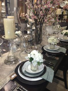 spring table settings | Spring Table Setting ~ Pottery Barn | °♡Entertaining Table ...